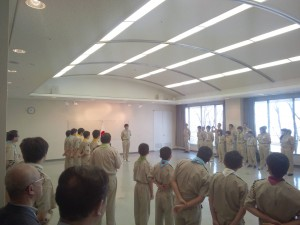 16NJ千葉13隊結隊式