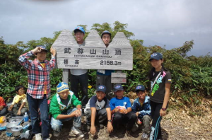 ▲ボーイ隊夏キャンプ&ハイキング(野外活動)